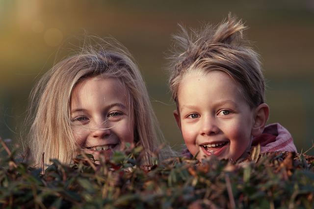 usměvavé dětičky
