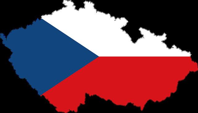 česká republika mapa