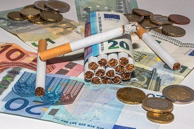 ubalené cigarety