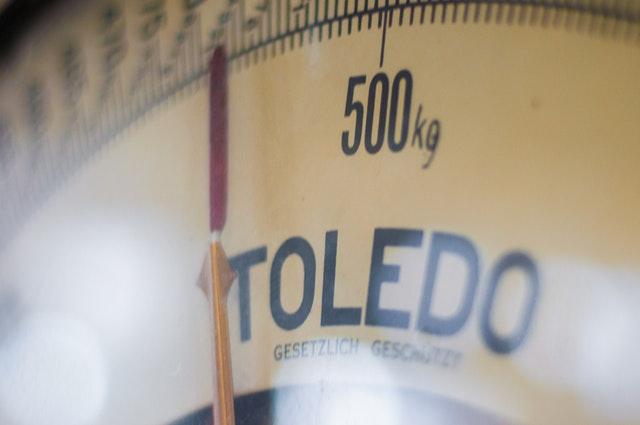 měření hmotnosti, váha